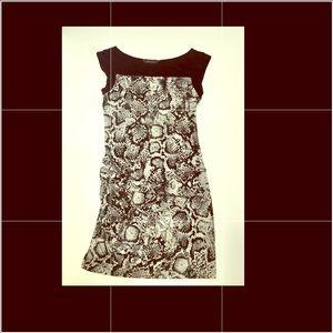 "BCBGMAXAZRIA ""Delia"" Snake Print dress"